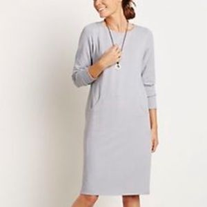 J. Jill Pure Jill Gray Pocket Tunic Dress size S